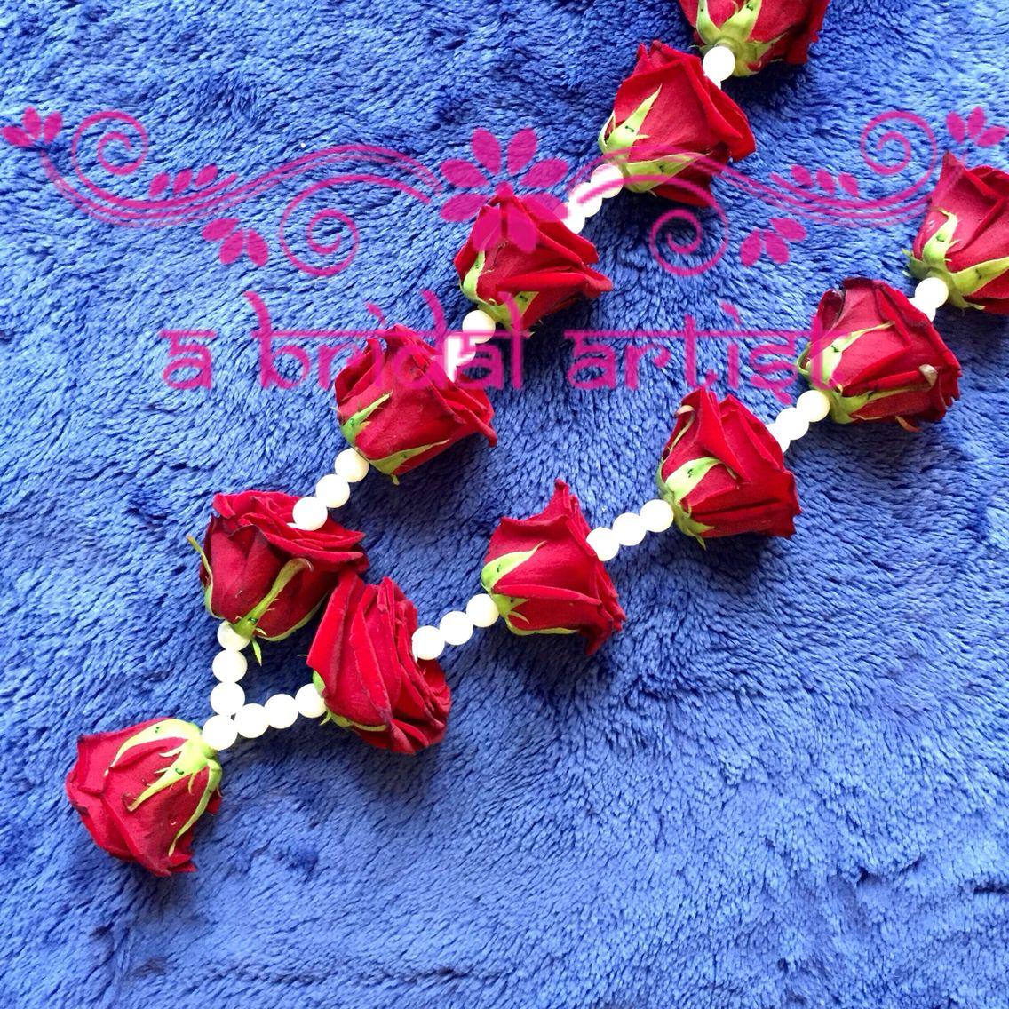 Flower Garlands For Weddings: Exquisite Designer Wedding Garland (jaimala / Haar