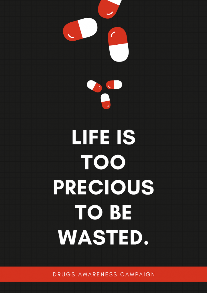 Life Is Too Precious To Be Wasted Desain Poster Blog Grafis
