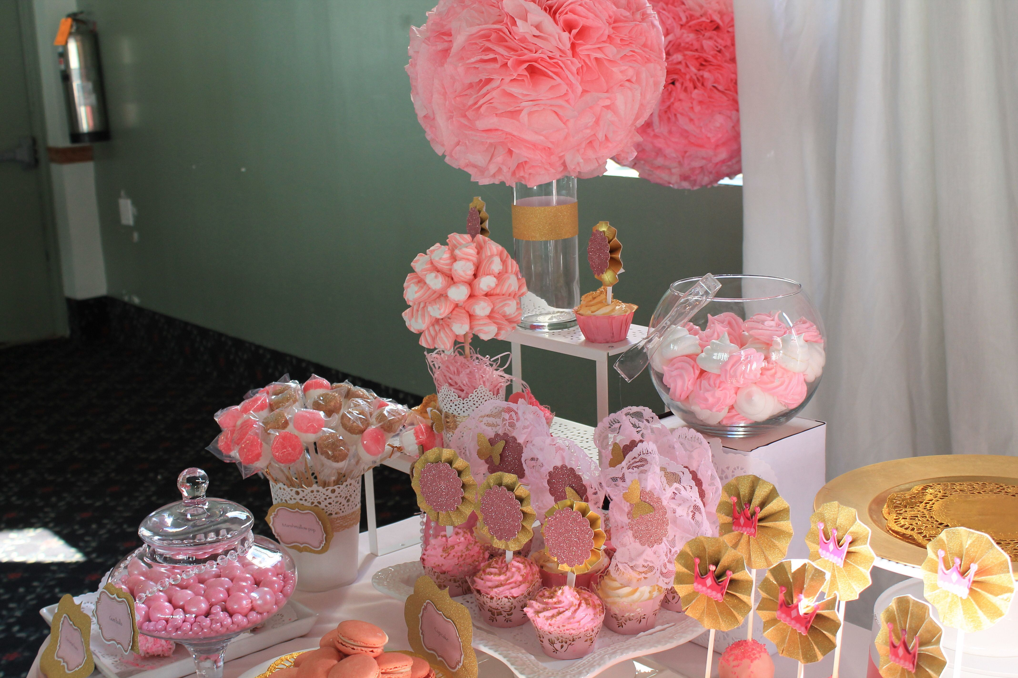 Princess Candy Table 40th Birthday Party Planning Prince Birthday Party 40th Birthday Parties