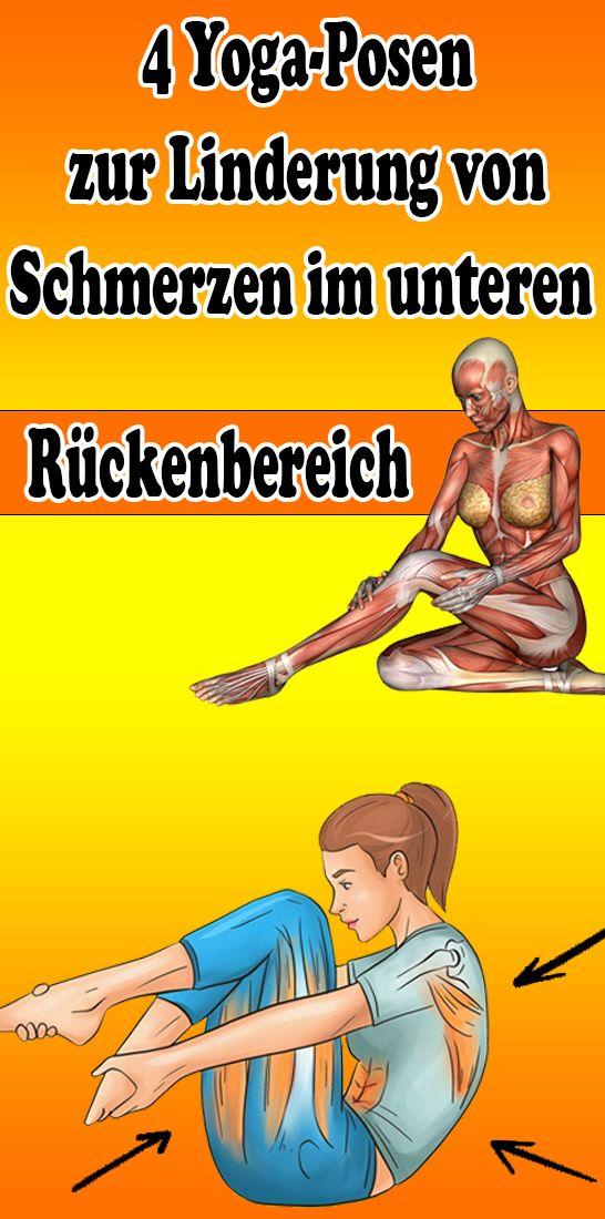 4 Yoga-Posen zur Linderung von Schmerzen im unteren Rückenbereich #pilatesworkout