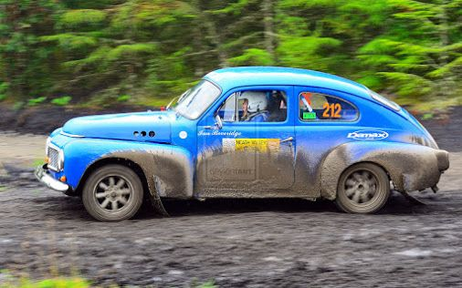 Volvo PV544 rally car :)