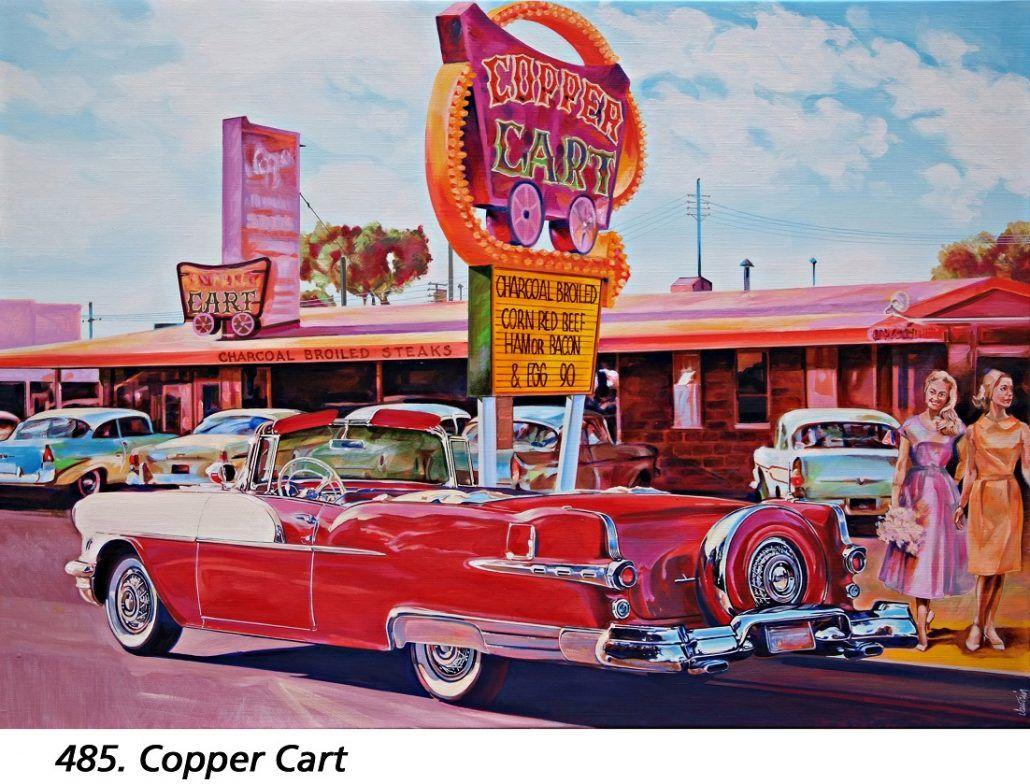 vautrin peinture dessin | Les Belles Américaines | Peinture auto, Voitures rétro