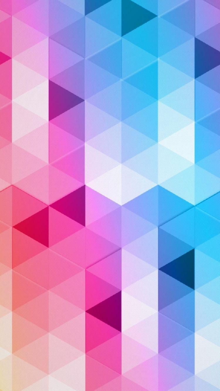 Colorful Geometric Iphone Wallpaper Geometric Wallpaper Iphone