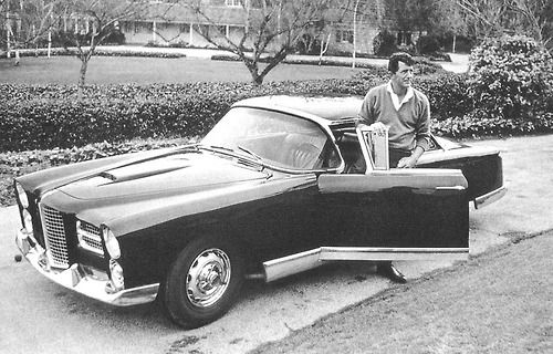 and cruise with  Dean Martin and his1961 Facel Vega.