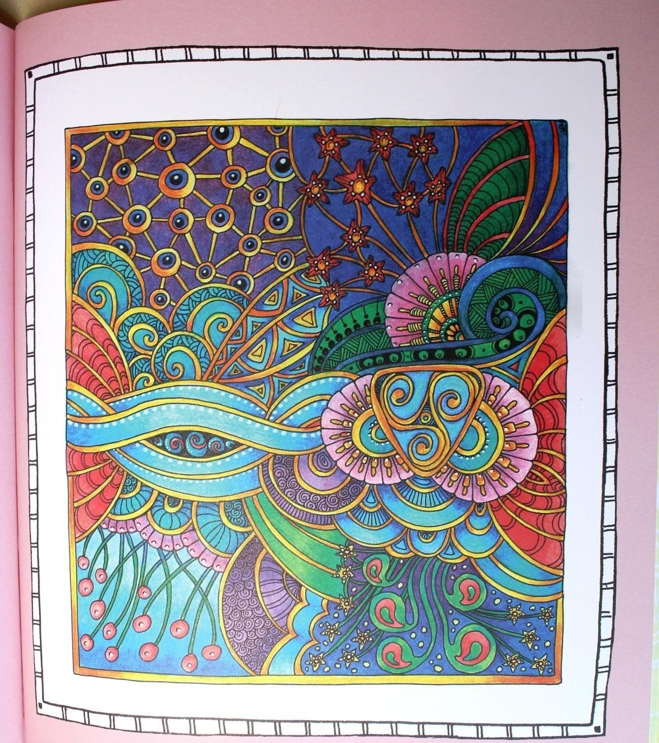Stress free coloring images - Color Me Stress Free Nearly 100 Coloring Templates To Unplug And Unwind A