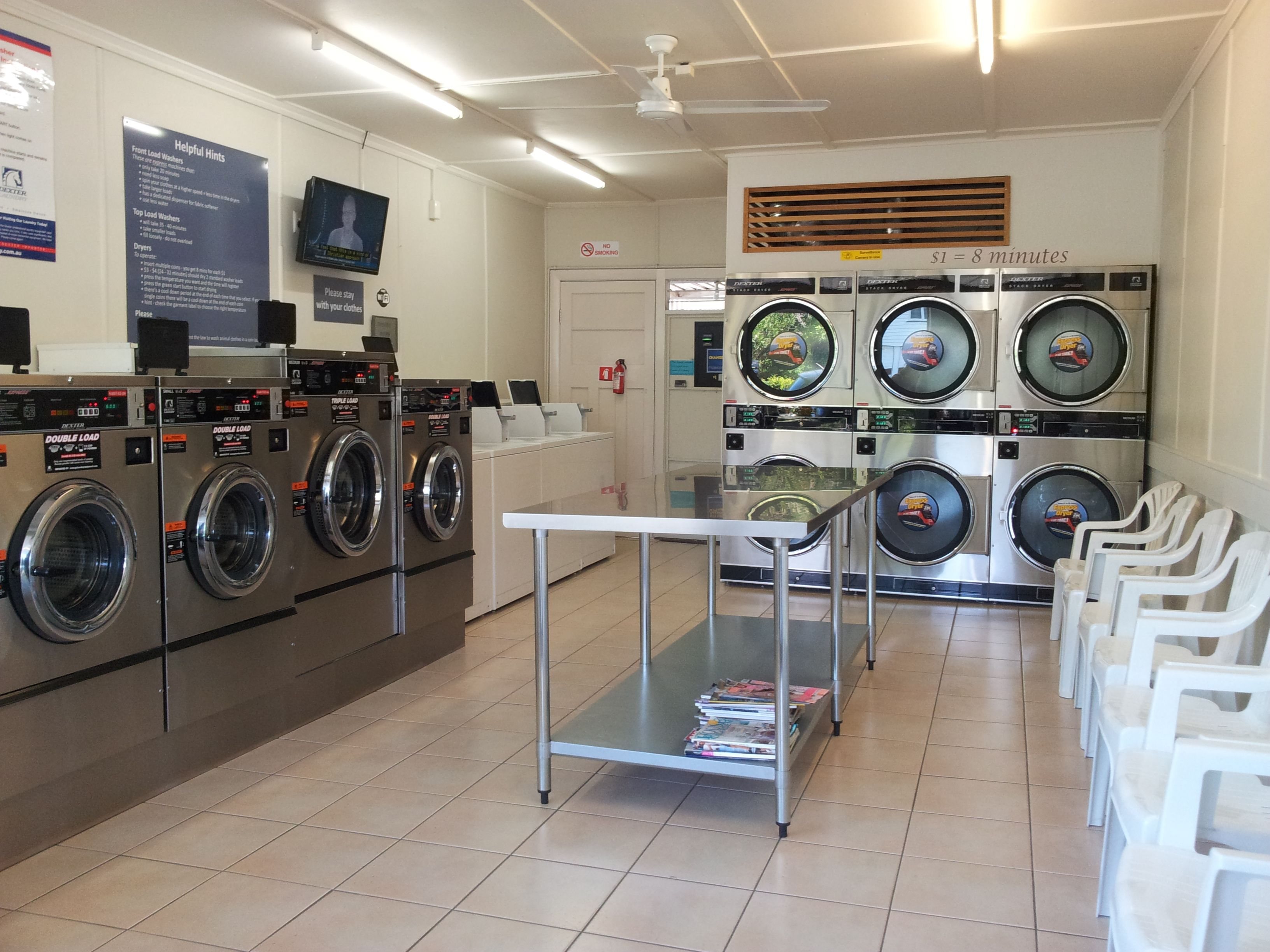 Indoooroopilly Laundromat Laundry Room Inspiration Commercial