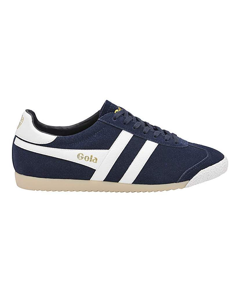 Gola Classics Harrier Suede Leather Men/'s Vintage Casual Trainers Grey