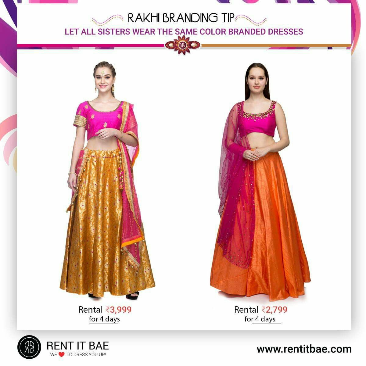 f70b6dc7c89 Rakhi  Branding  Tip  Let all  sisters wear the  Same  Color ...