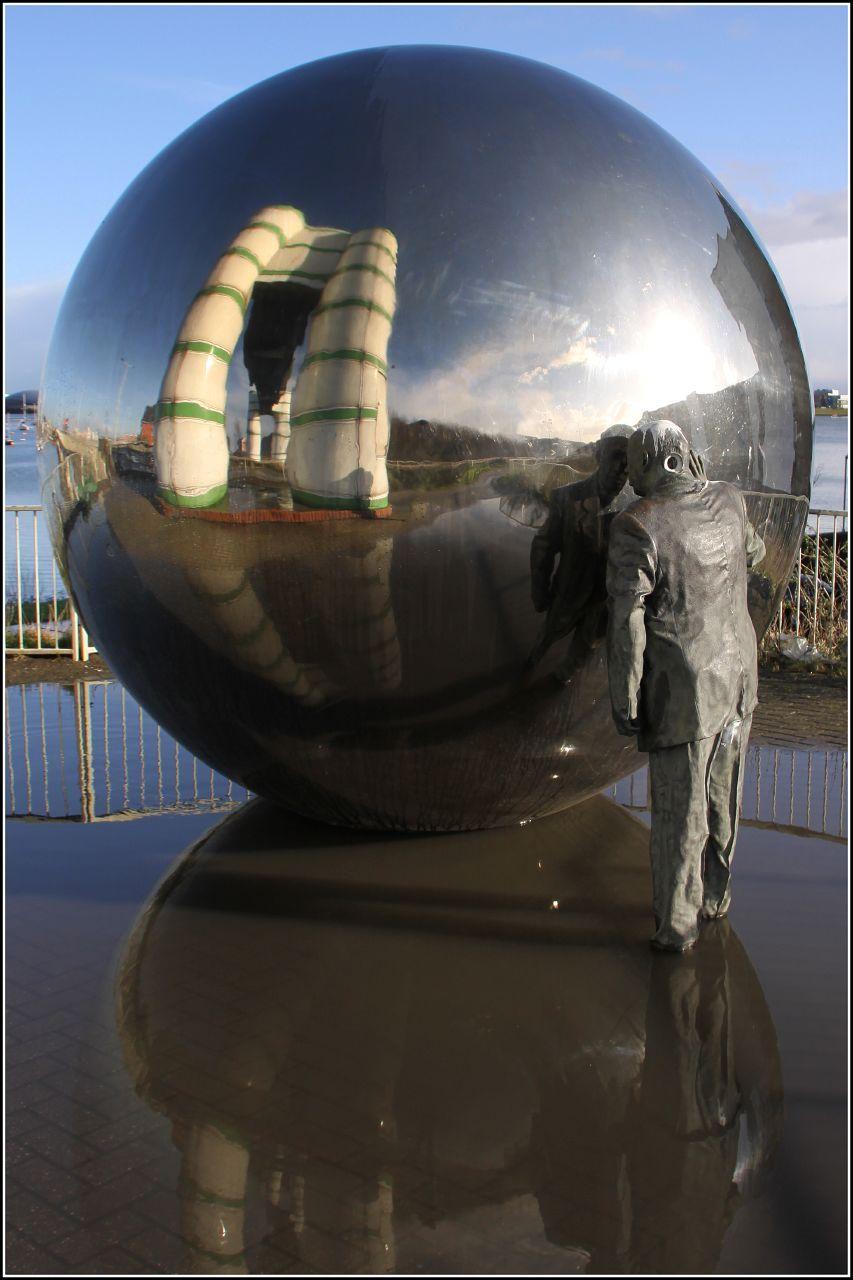 Chrome ball art silver Photo art, Art, Chrome ball
