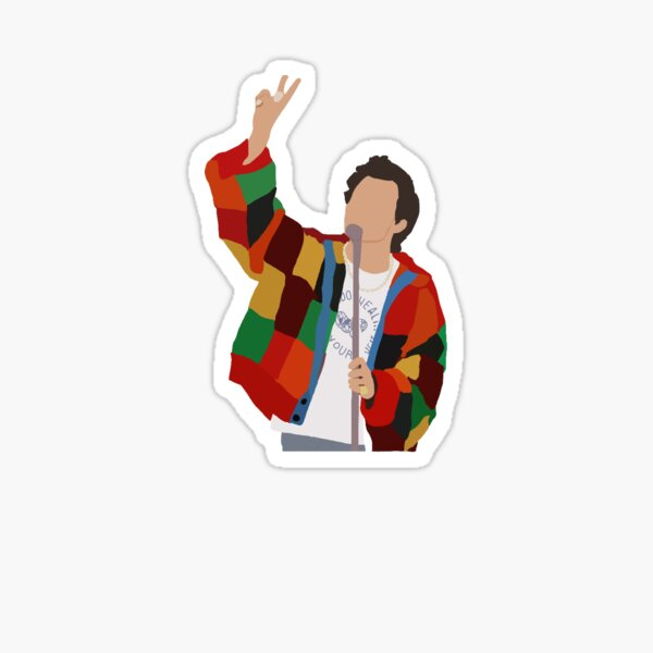 Louis Tomlinson Stickers Harry Styles Drawing Preppy Stickers Stickers