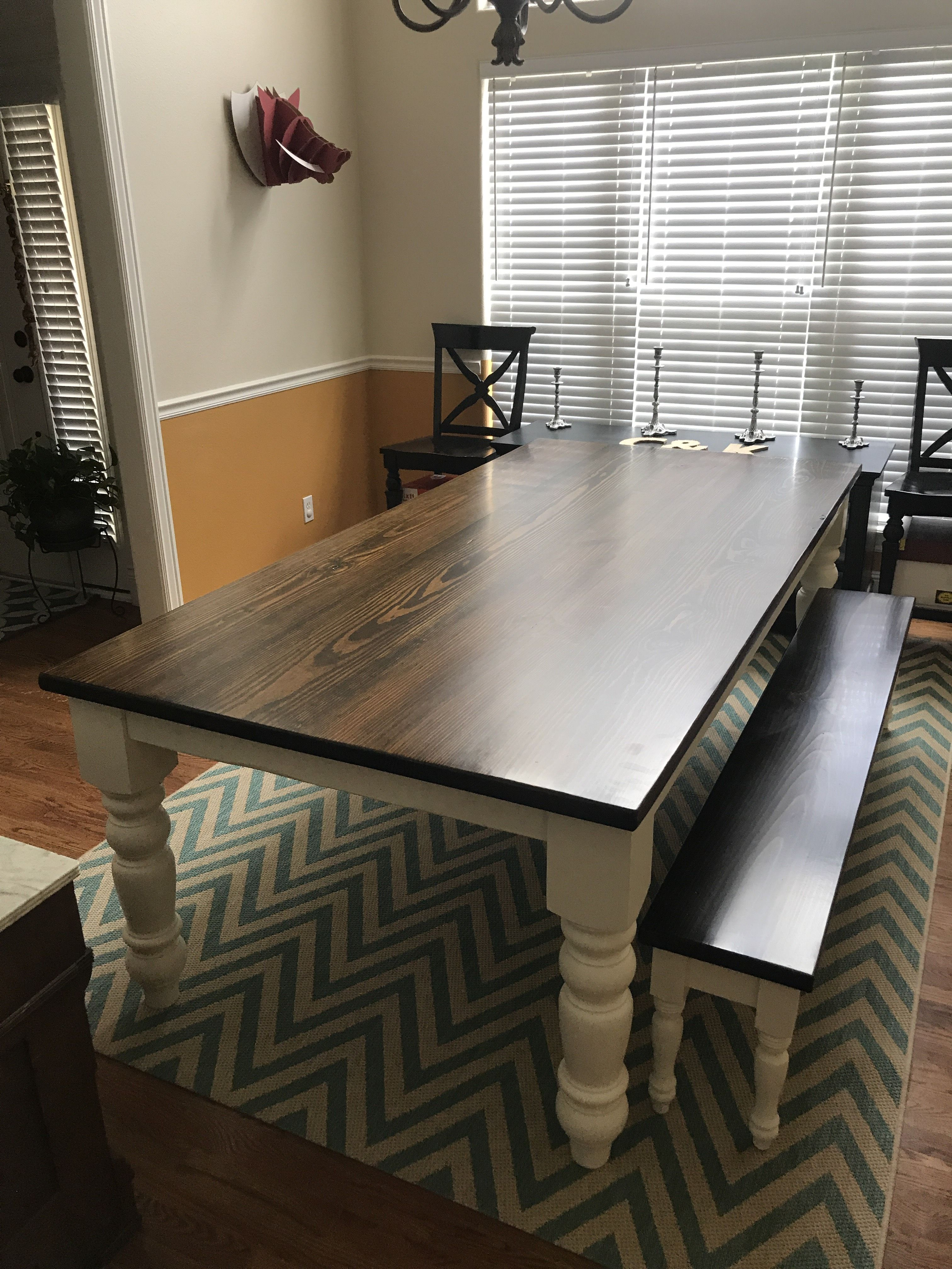 Our Delivery Team Shared This 7 5 X 45 Baluster Table Features A