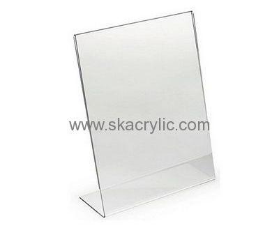 Custom Design Plastic Sign Holder 8 5 X 11 Plastic