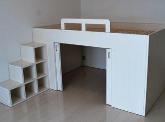Amazing Raised Bed With Storage Underneath ...