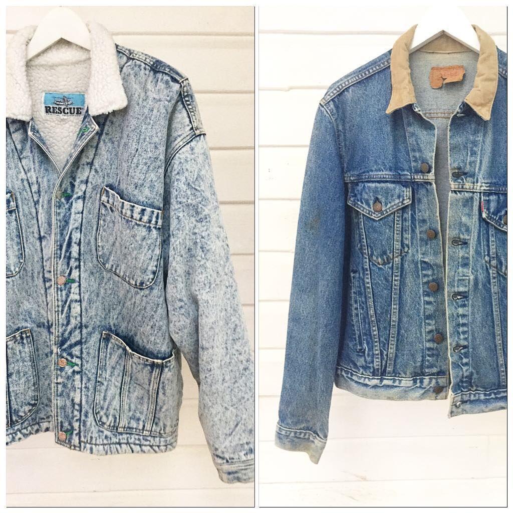 Vintage Denim Jackets More Online Now Shop Secondloves Com Link In Bio If You Re In Byron S Vintage Denim Jacket Denim Jacket Vintage Denim
