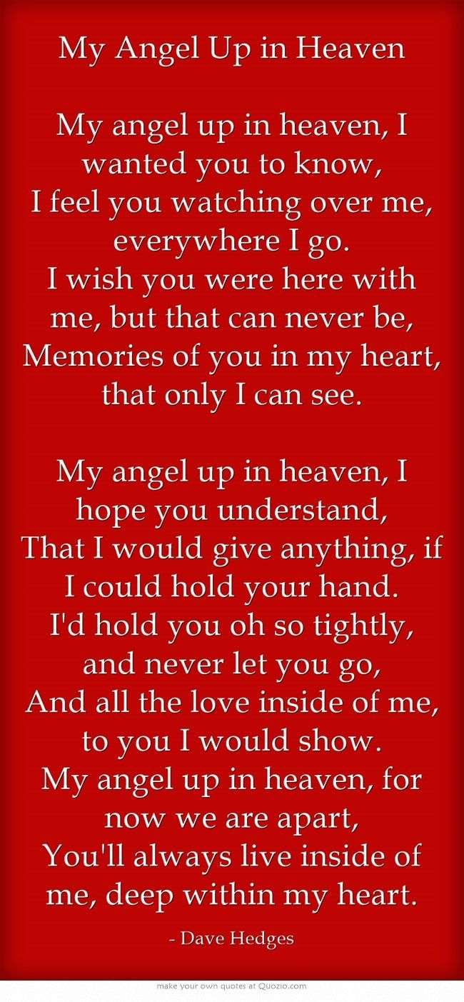 Wish You Were Here Quotes My Angel Up In Heaven My Angel Up In Heaven I Wanted You To Know