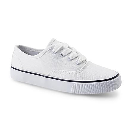 Joe Boxer Unisex Rewind White Casual Oxford