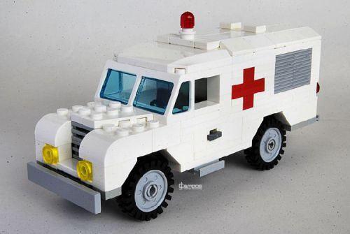 Lego Land Rover Ambulance | Lego | Pinterest | Ambulance, Land ...