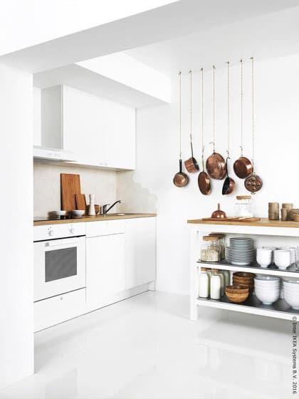 5 super pratische ideen wie du deine kleine k che einrichten kannst haken t pfchen und. Black Bedroom Furniture Sets. Home Design Ideas