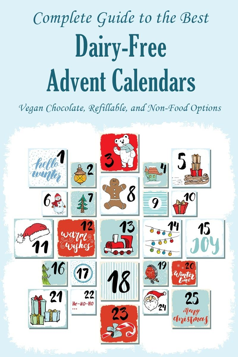 Dairy Free Advent Calendars The Complete Round Up Dairy Free Advent Calendar Dairy Free Dairy Free Recipes