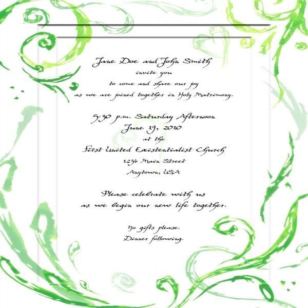 Cool 11 Generic Wedding Invitations Check More At Jharlowweddingplanning