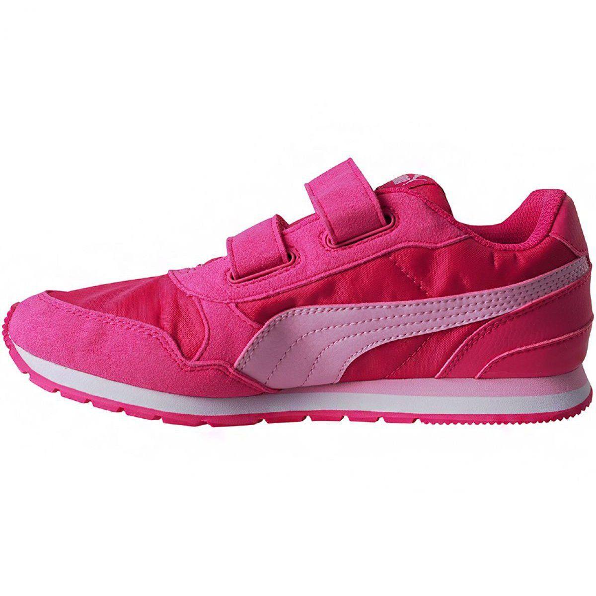 Buty Puma St Runner V2 Nl V Ps Jr 365294 12 Rozowe Childrens Shoes Kid Shoes Shoes