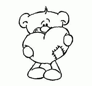 Oso Con Corazon Dibujos De San Valentin Dibujos De Amor Amor Para Dibujar