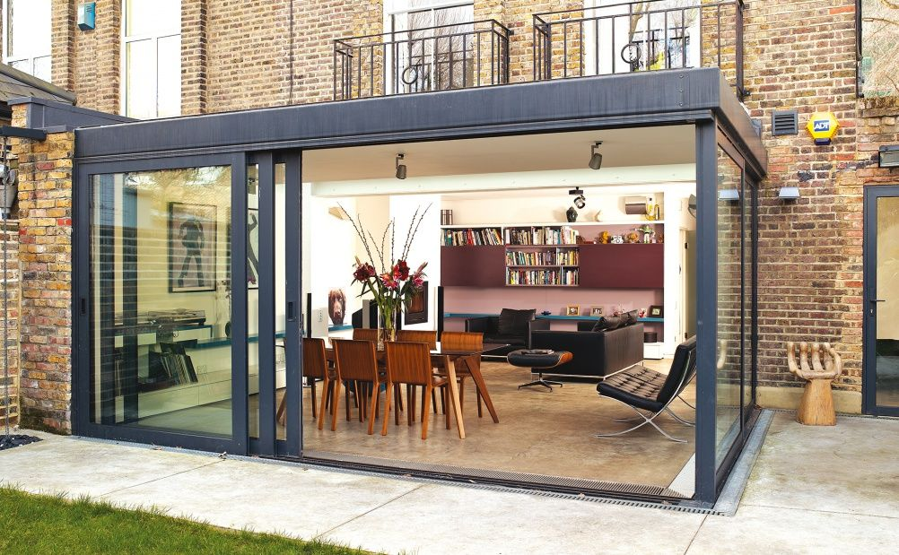 single storey extension with sliding doors | new project ...