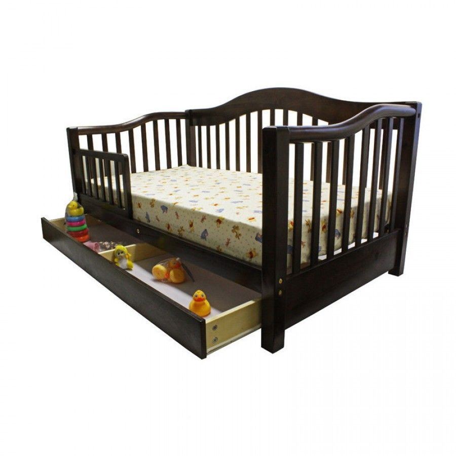 Dream On Me Toddler Day Bed In Espresso 652 E Toddler Day Bed