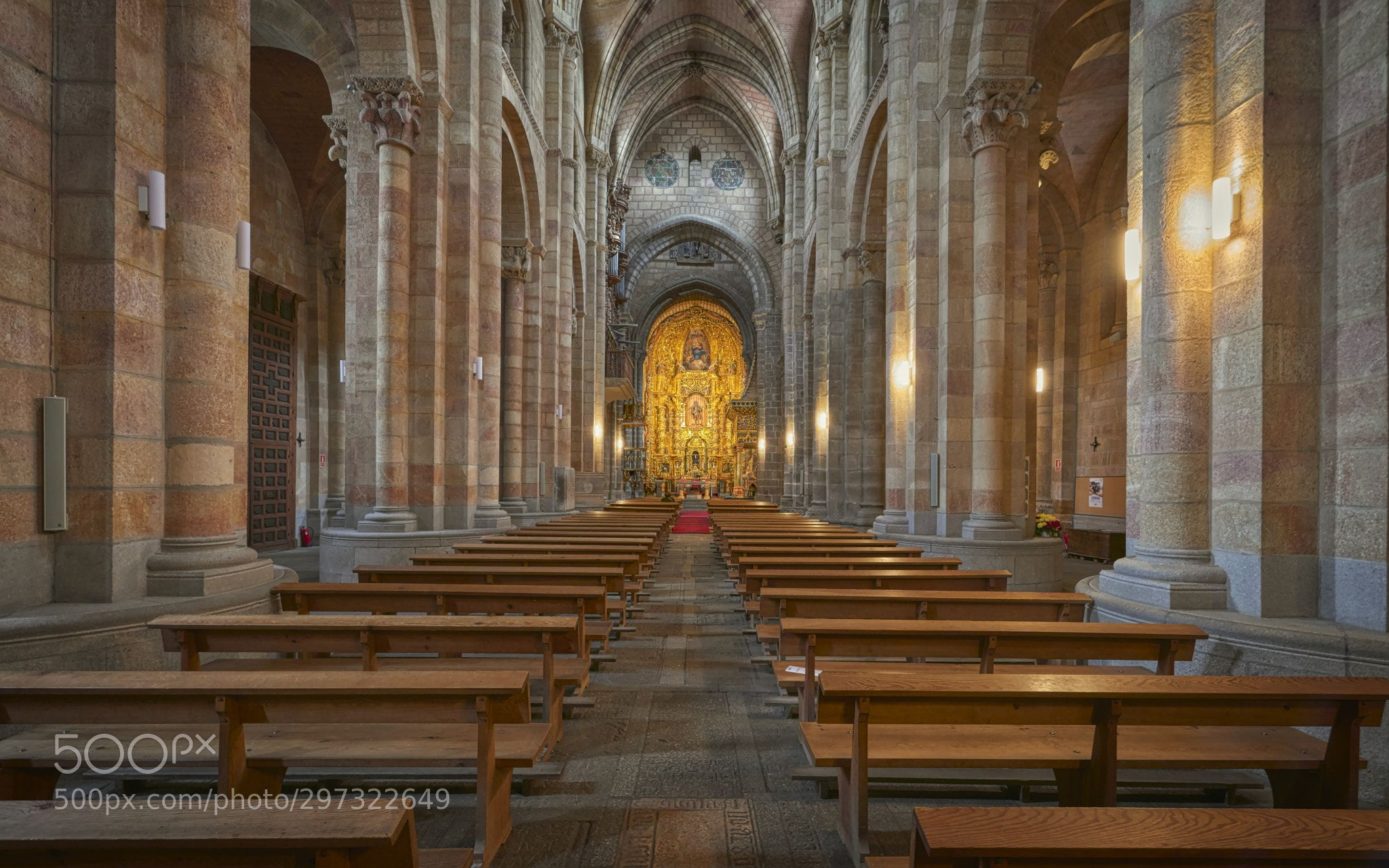 Basílica De San Vicente ávila By Neobit San Vicente Romanesque Architecture Cathedral Church
