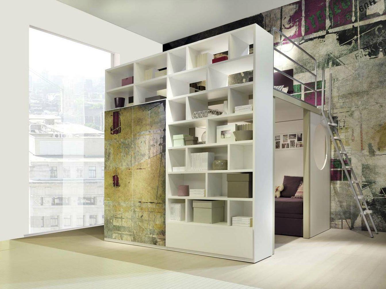 Chambre d\'ado mezzanine TIRAMOLLA 910 BIS Collection Tiramolla by ...