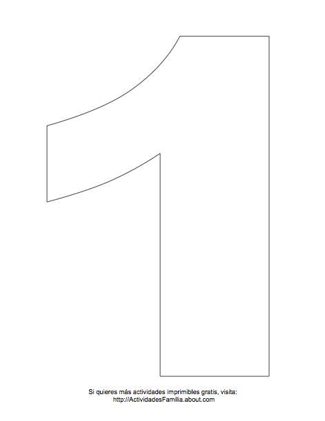 Dibujos De Numeros Para Colorear Numero Para Imprimir Imprimir Sobres Plantillas De Letras Para Imprimir