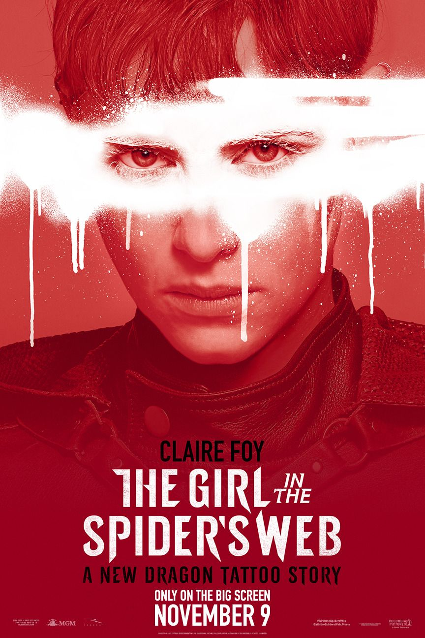 Return To The Main Poster Page For The Girl In The Spider S Web