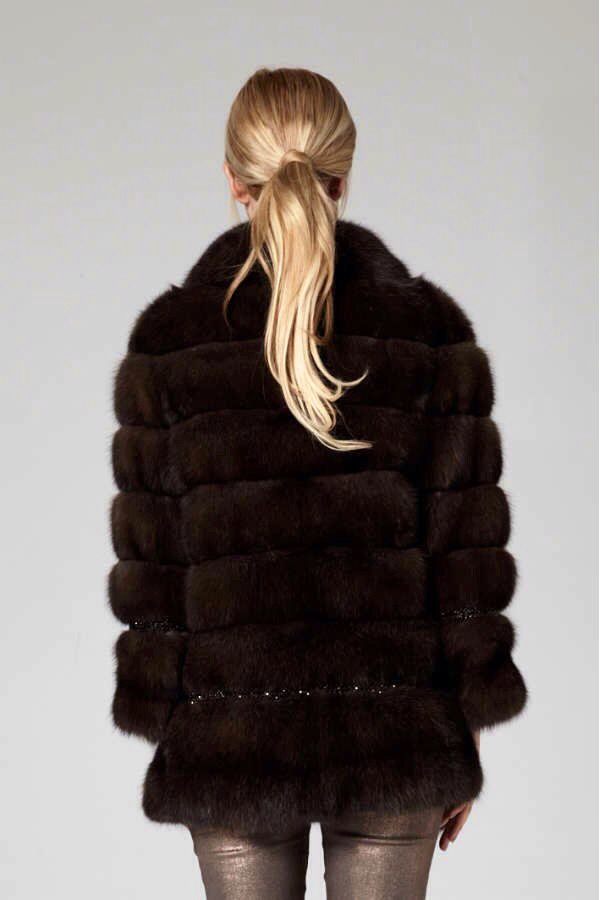 Lilly E Violetta Russian Sable Fur Coat #fashion #fur #mink @lillyevioletta1 #lillyevioletta