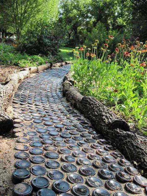 19 idee per creare con semplici fai da te il tuo viale in giardino
