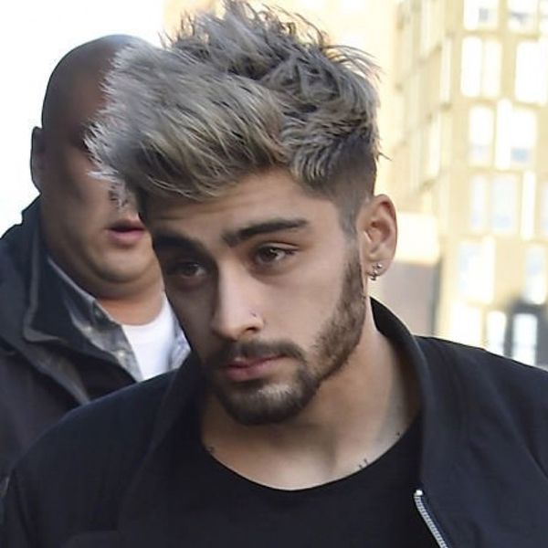 How To Lucky Blue Smith And Zayn Malik Gray Hair Dye Royal Fashionist Grey Hair Color Men Dyed Hair Men Men Hair Color