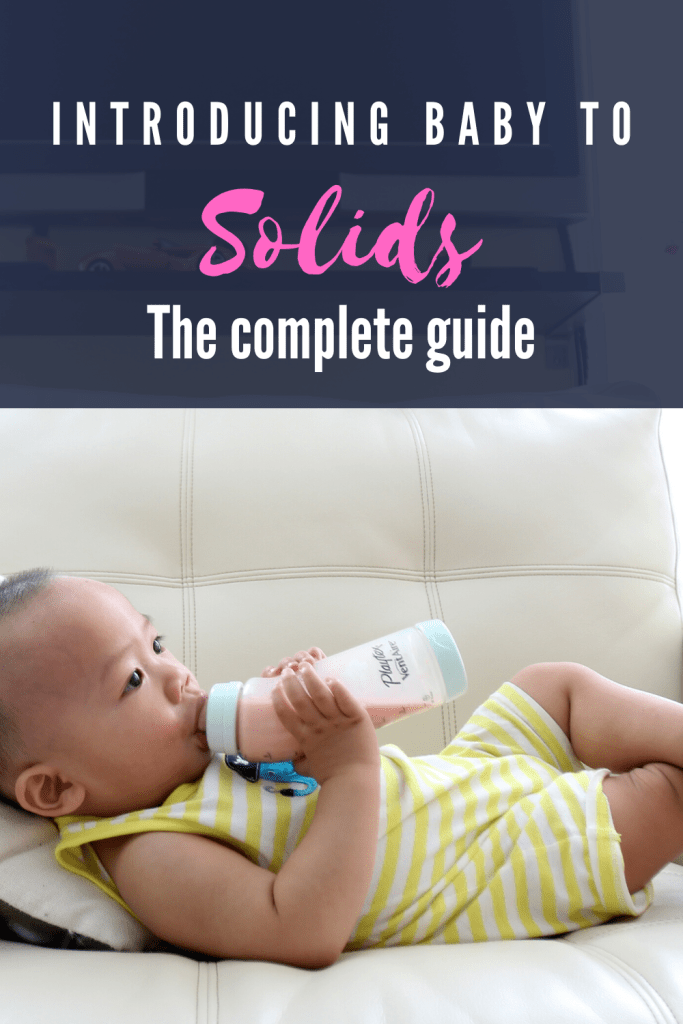Do you think it is time to start your little one on solids ...