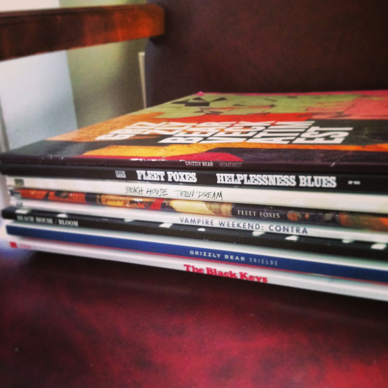 Brand New Vinyl Records The Black Keys Grizzly Bear Beach House Vampire Weekend Fleet Foxes
