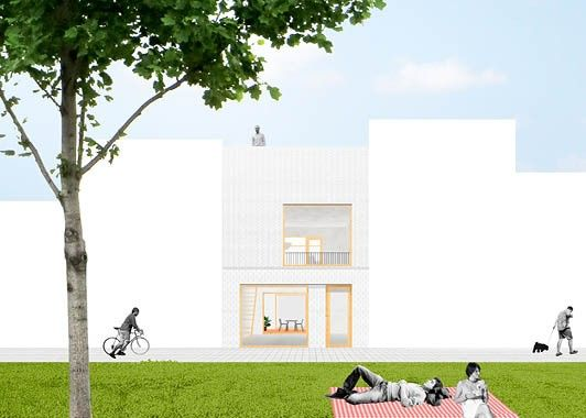 BUIKSLOTERHAM - A row house in Amsterdam Noord by space&matter, NL
