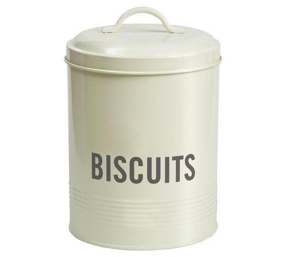 Buy Jamie Oliver Biscuit Tin - Cream at Argos.co.uk - Your Online ...