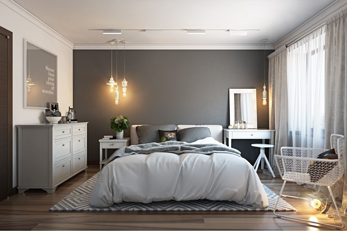 This Bedroom May Not Be Spacious, But Its Clever Design Makes It Look Light  And Large. With Rendering Interior By ArchiCGI, You Can Always Be Sure That  Your ...
