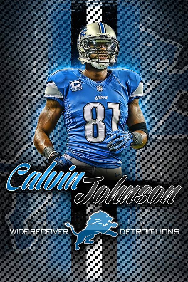 Calvin Johnson Iphone Wallpaper Top Images Calvin Johnson Detroit Lions Football Detroit Lions