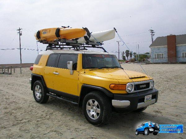 Thule Roof Rack Kayak Carrier Pics Toyota Fj Cruiser