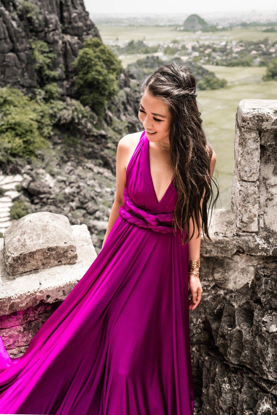 Another World In Ninh Binh Maxi Dress Braided Details Wendy S Lookbook Dresses Dainty Dress Maxi Dress Formal [ 1416 x 944 Pixel ]