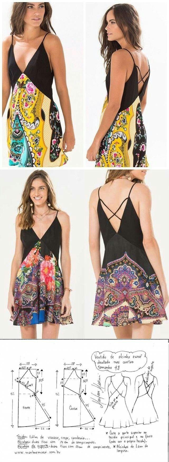 Summer dressuc deniz uc strihy pinterest summer dresses