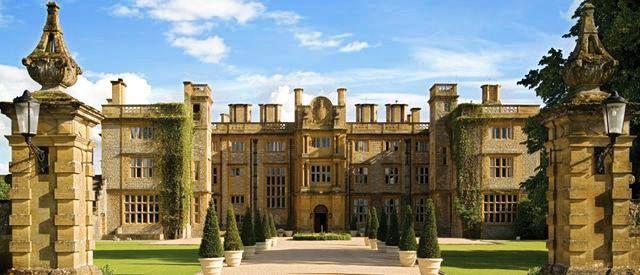 Eynsham Hall in Witney, Oxfordshire..