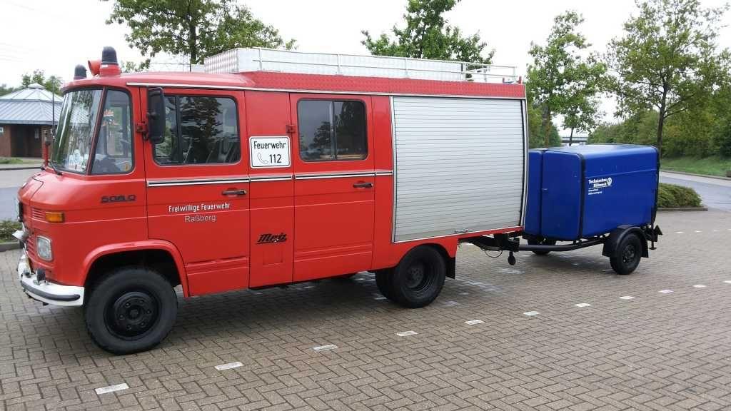 Forum dubbellucht: Mercedes 508D ex brandweer te koop (1/1)