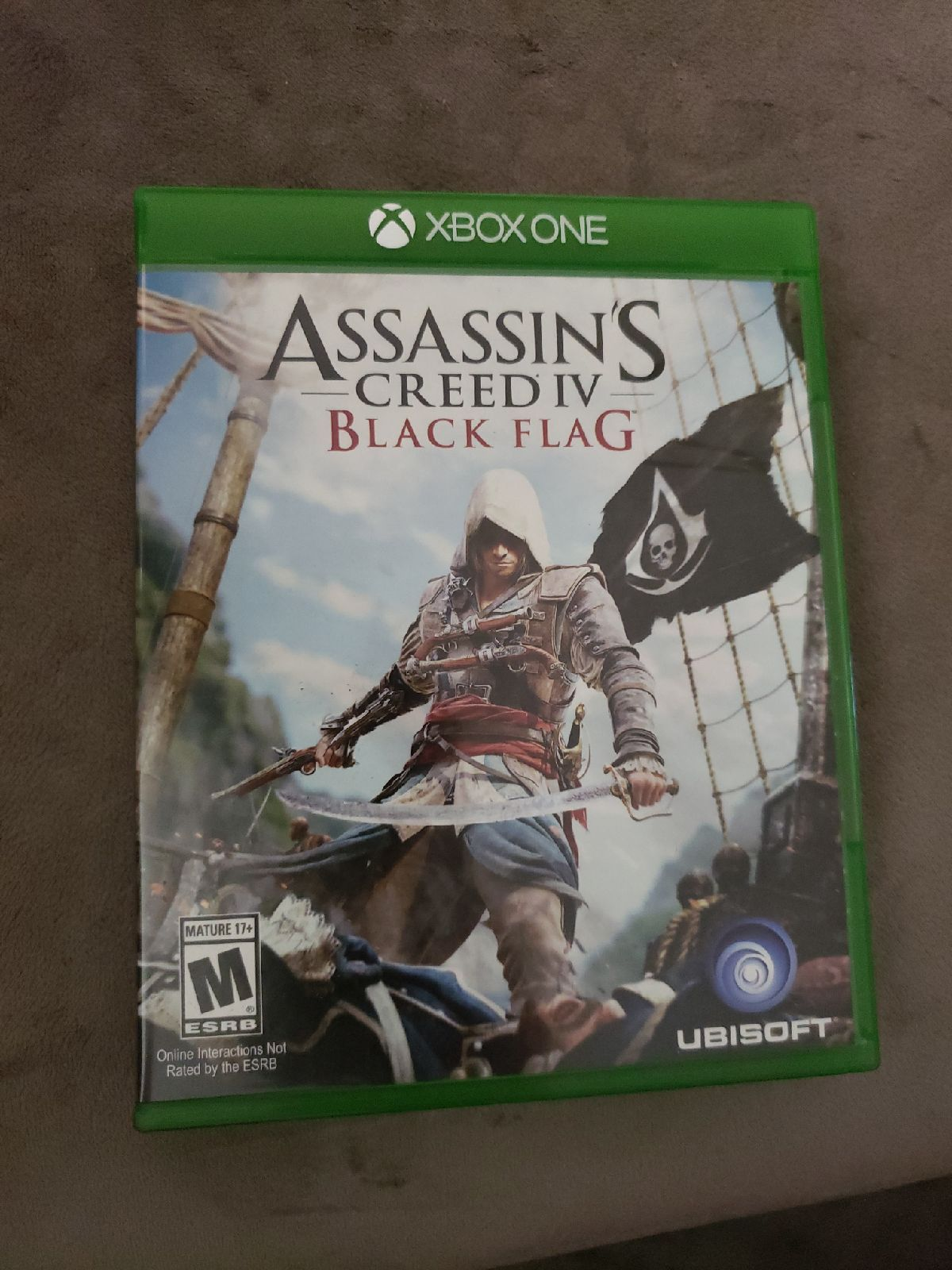 Assassin S Creed Black Flag Xbox One On Mercari Assassins Creed Black Flag Black Flag Broken Leg