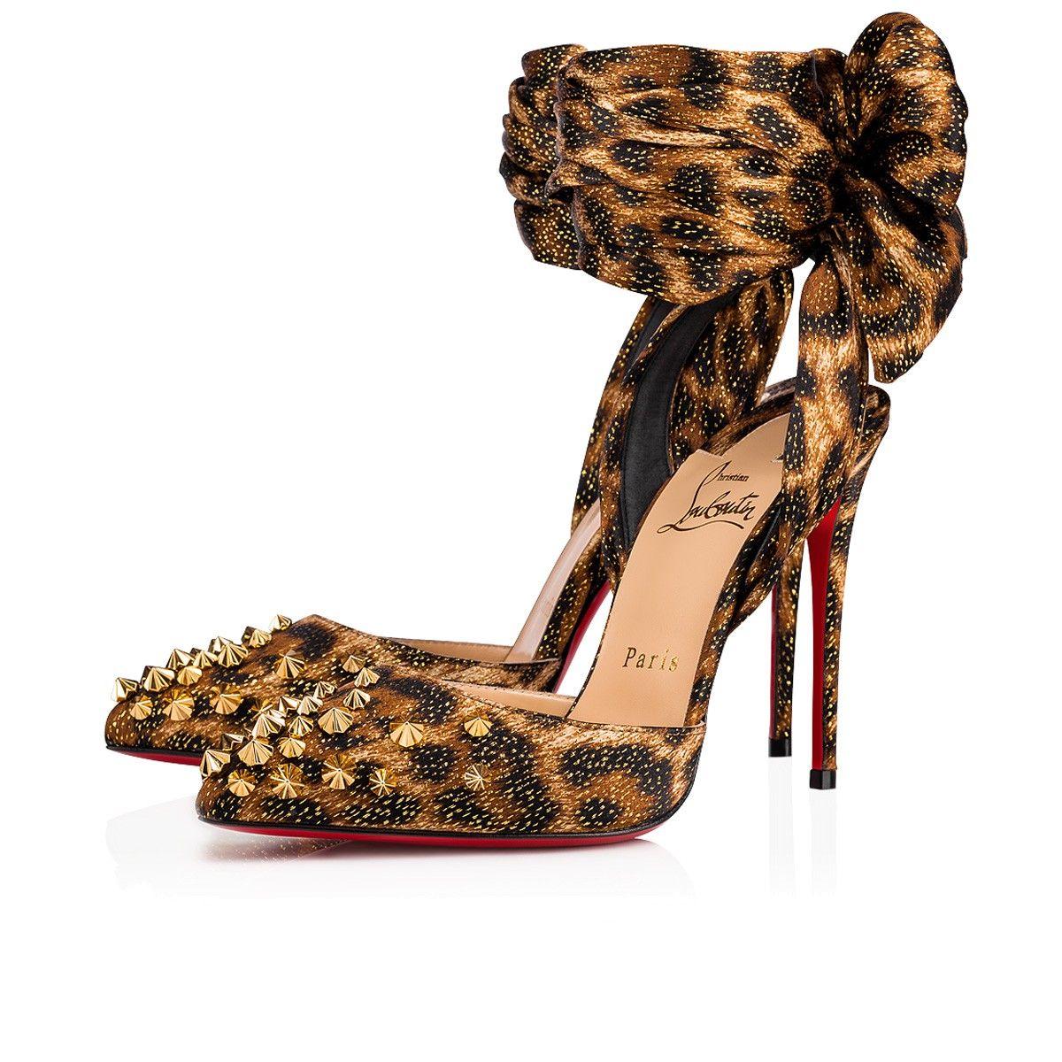 bc757136c8f Drama Douce 100 Black/Gold Lurex - Women Shoes - Christian Louboutin ...