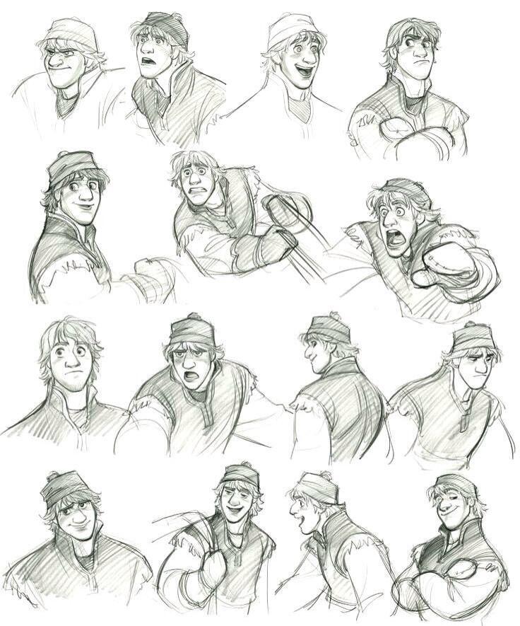 Disney Character Design References : Walt disney frozen on princes concept art and