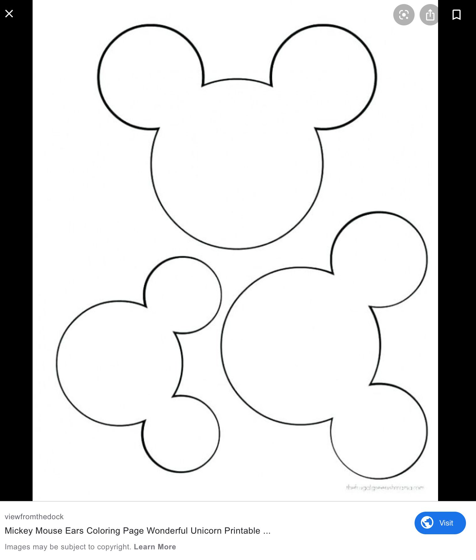 Pin By Patti Bassignani On Quilting Unicorn Printables Coloring Pages Mickey Mouse Ears